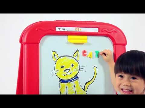 Crayola Creative Fun Double Easel - Smyths Toys