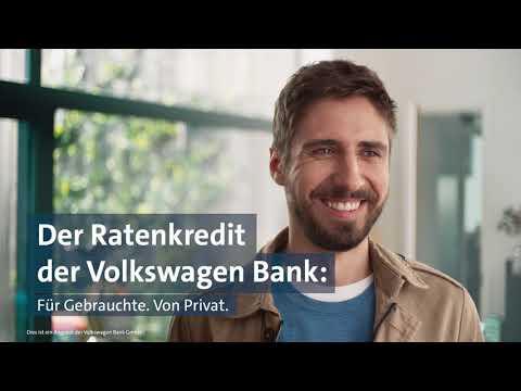 Da, wenn du Ihn brauchst: Der Ratenkredit der Volkswagen Bank.