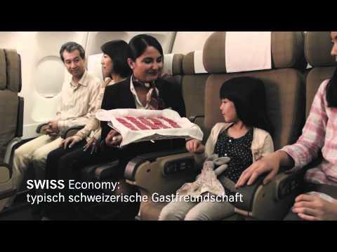 SWISS, die Airline der Schweiz