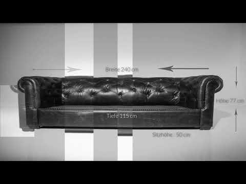 Chesterfield Sofas von DELIFE