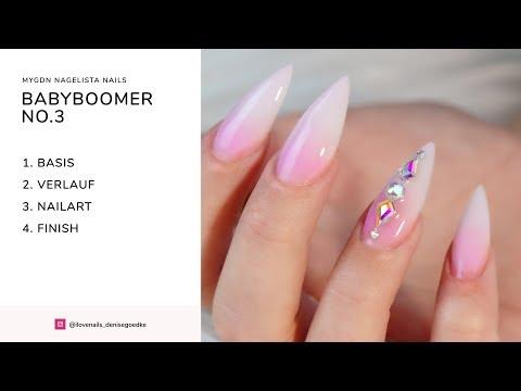 myGN Nagelista Nails Babyboomer no.3 Anleitung