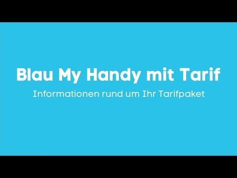 Blau My Handy mit Tarif: Das Wichtigste im Überblick