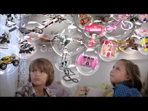 Zu Weihnachten Wunschzettel mit myToys de Werbung 2012
