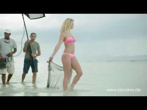 LASCANA Making-Of: Shooting mit Erin Heatherton