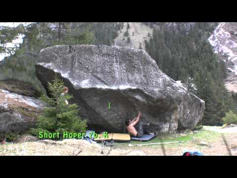 Bouldern Zillertal Classics Teil 2 - Moonwalk, Hotel California usw. - bouldering