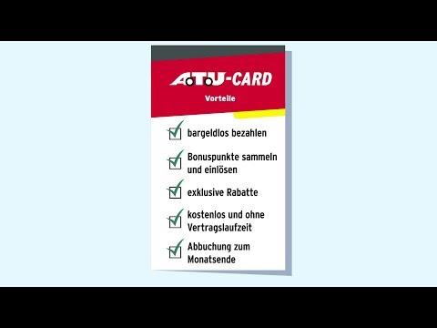 Profitieren Sie von den Vorteilen der A.T.U-Card
