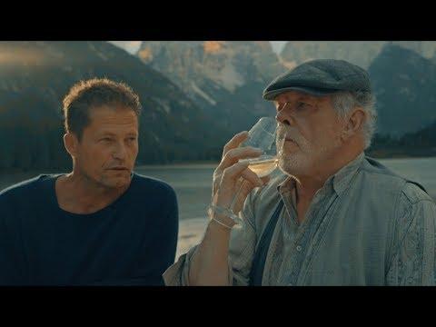 Til Schweiger & Nick Nolte, Wein Tasting am Set von Honig im Kopf