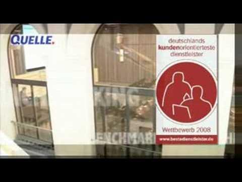 1.Platz: QUELLE ist Deutschlands kundenorientiertester Dienstleister