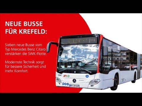 SWK MOBIL: Die neuen Busse mit Sideguard Assist Bus