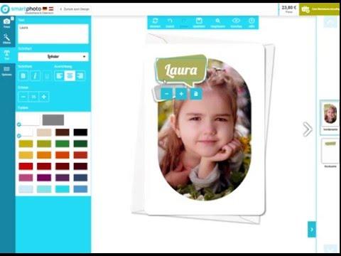 Tutorial: Foto-Grusskarten bei smartphoto gestalten