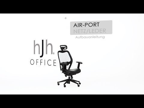 AIR-PORT Leder/Netz - Aufbauvideo - hjh OFFICE