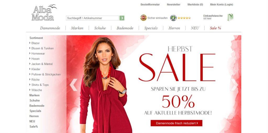 Zum Alba Moda Shop
