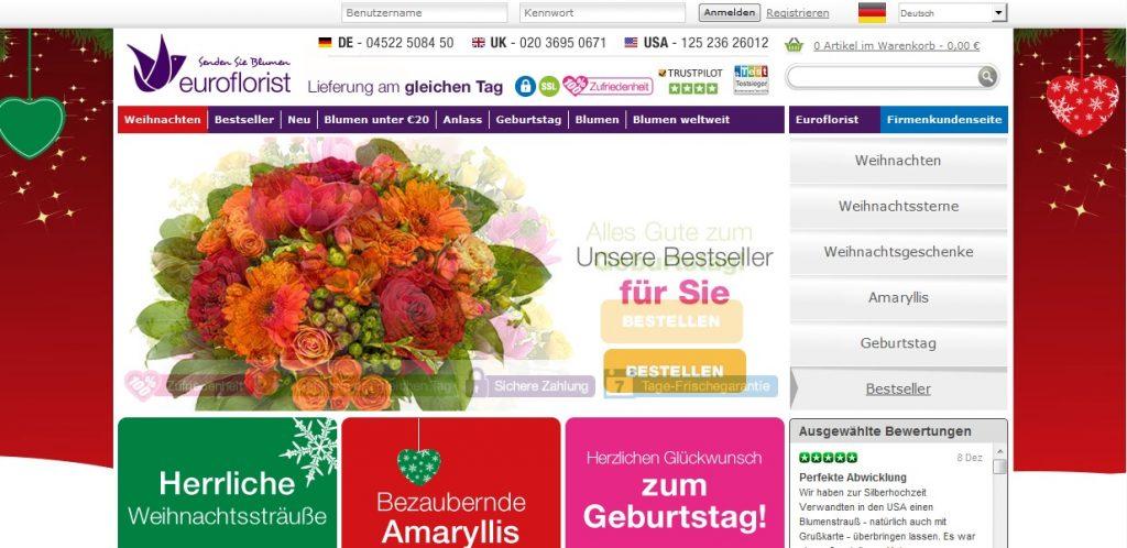 Zum EuroFlorist Shop