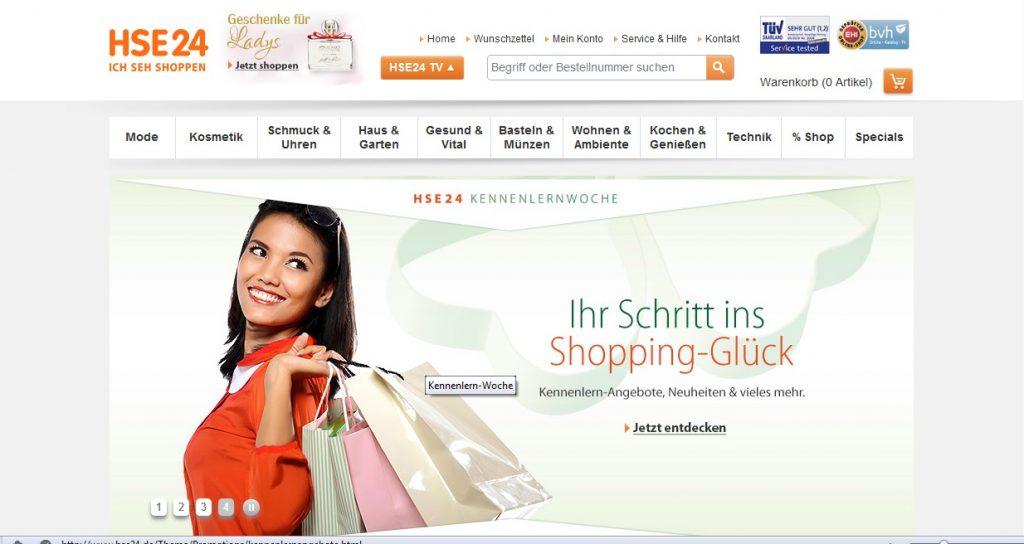 Zum HSE24 Shop