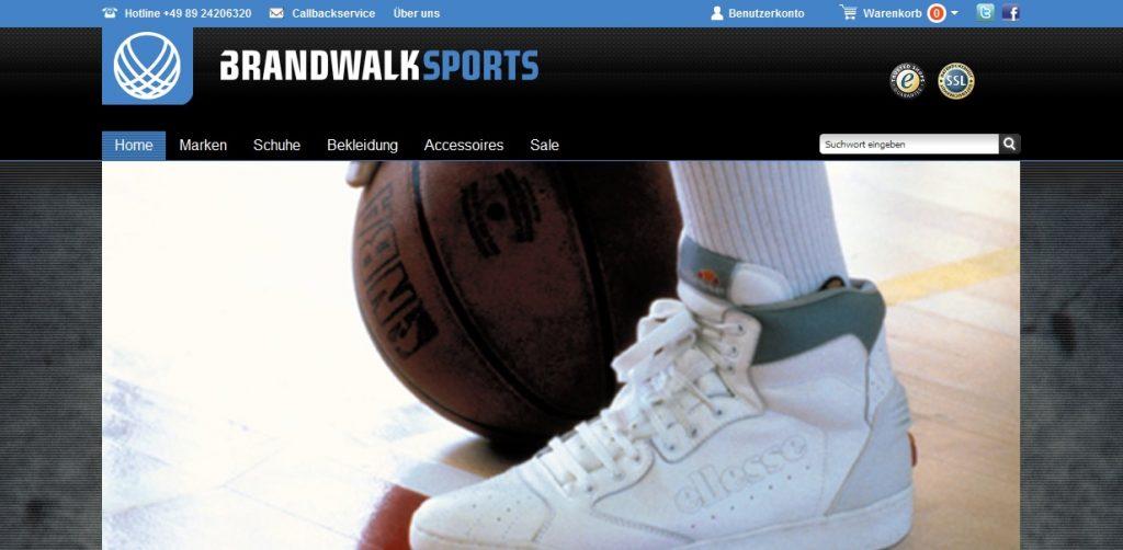 Zum Brandwalk Sports Shop