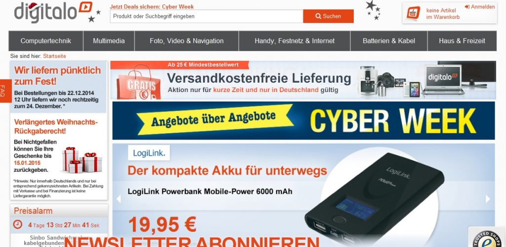 Zum digitalo Shop