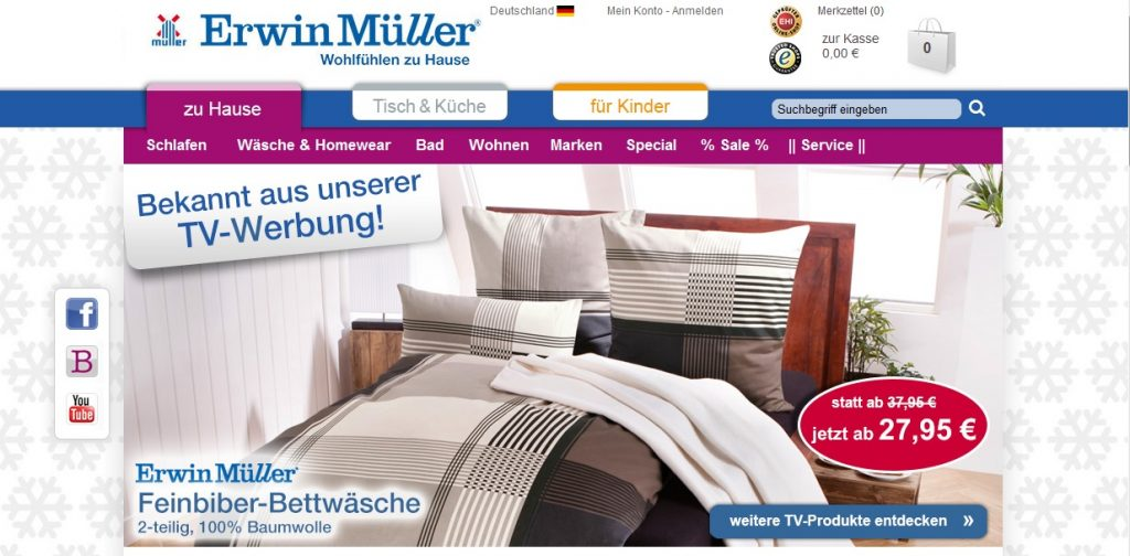 Zum Erwin Müller Shop