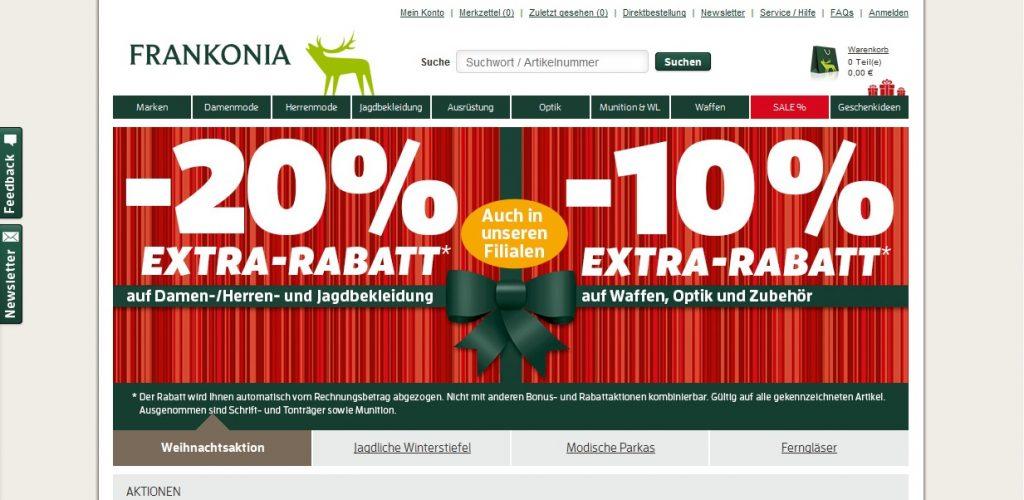 Zum Frankonia Shop