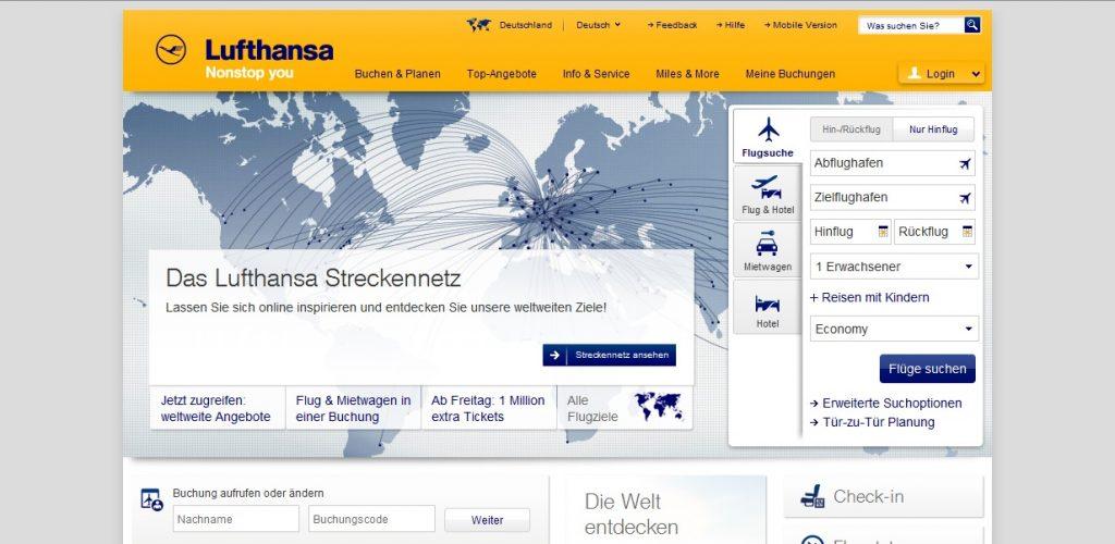 Zum Lufthansa Shop