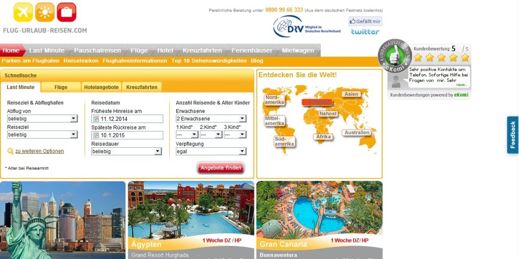 Zum Flug-Urlaub-Reisen.com Shop