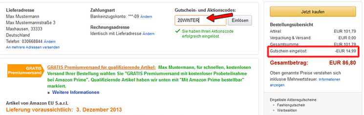 Hutschein Codes Amazon