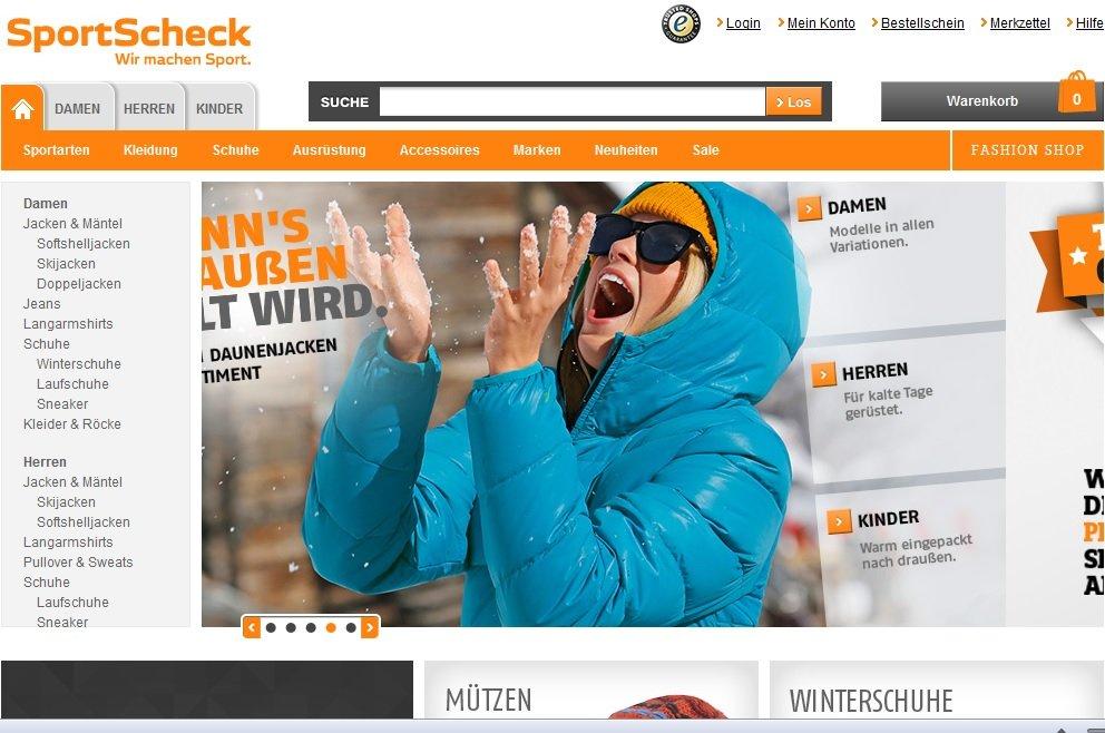 Zum SportScheck Shop
