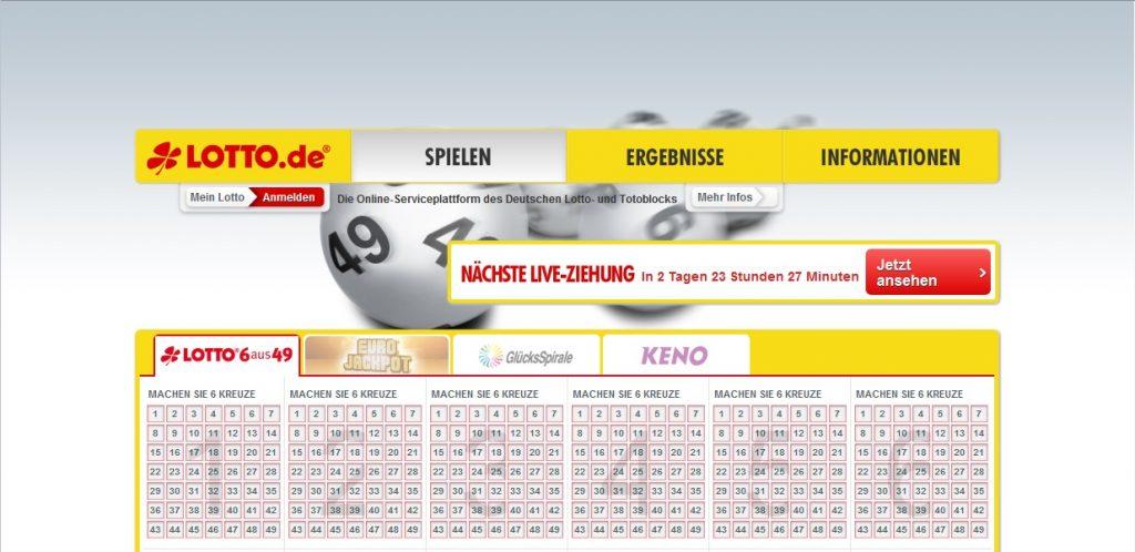 Zum Lotto.de Shop