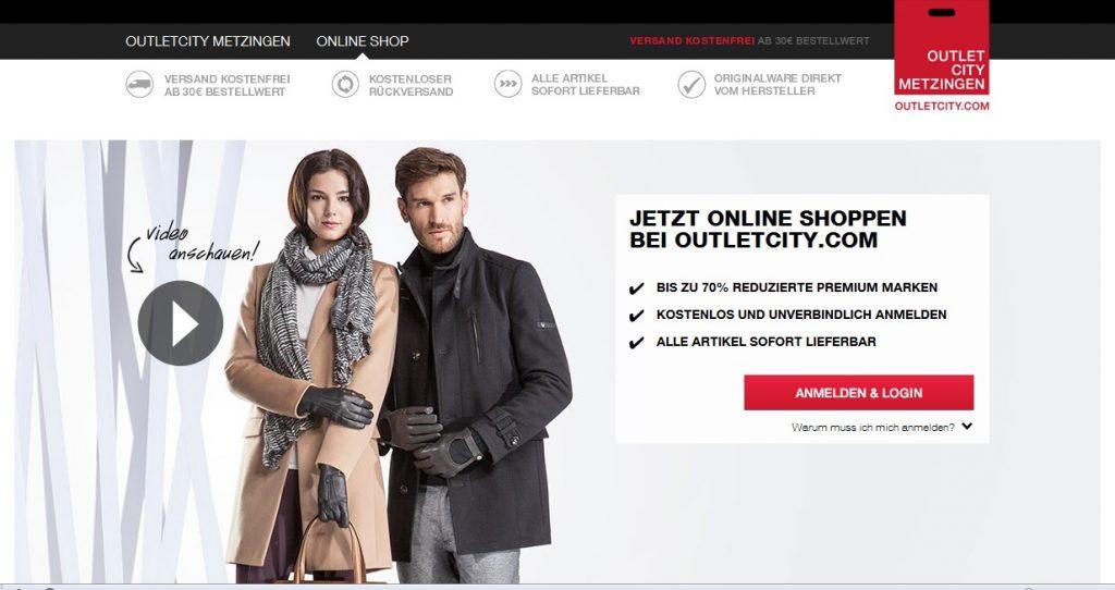Zum OutletCity Metzingen Shop
