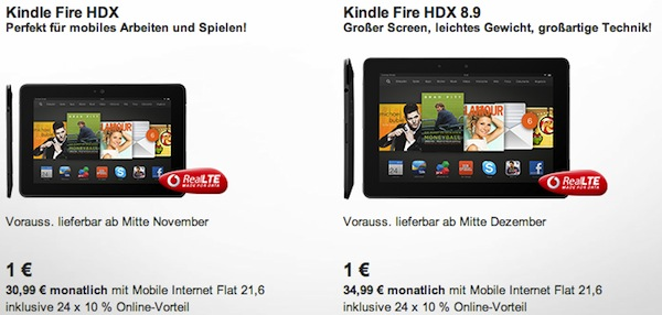 vodafone kindle fire hdx