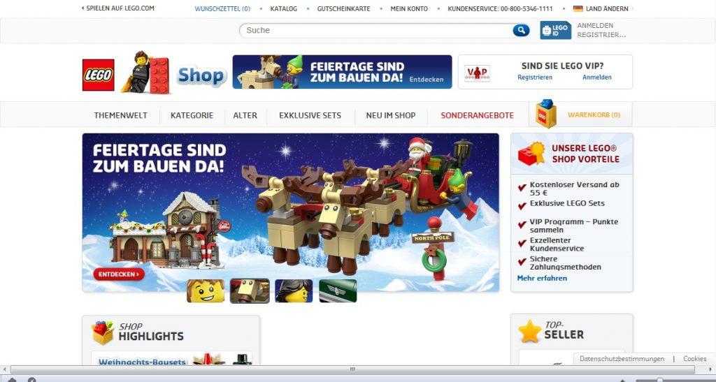 Zum LEGO Shop