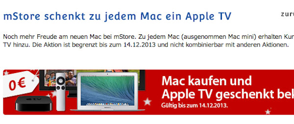 mstore apple tv gratis
