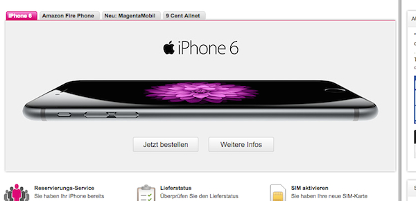 iphone 6 plus telekom rabatt