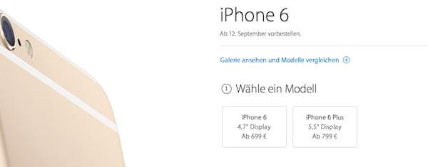 iphone 6 vorbestellen