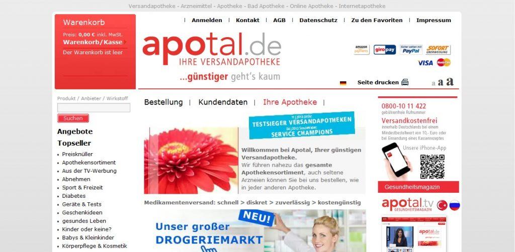 Zum Apotal Shop
