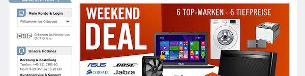 cyberport weekend deals 24.10.2014
