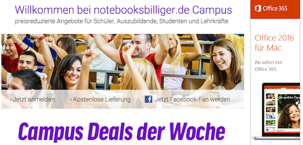 notebooksbilliger campus studentenrabatt