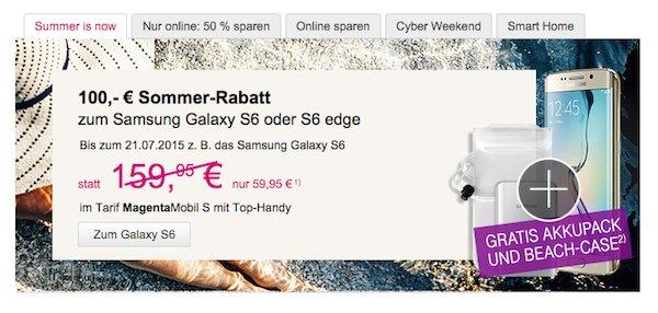 telekom summer is now rabatt galaxy s6