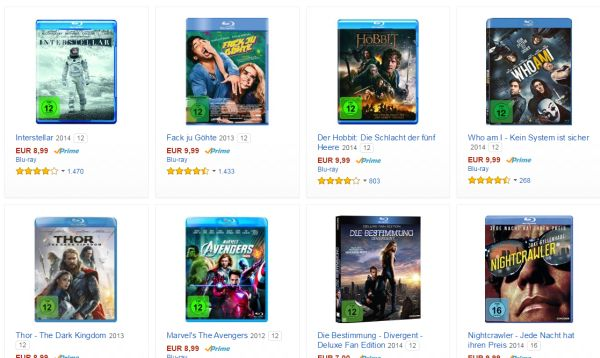 amazon blu ray unter 10 euro