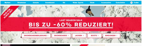 planet sports last season sale 60 prozent rabatt