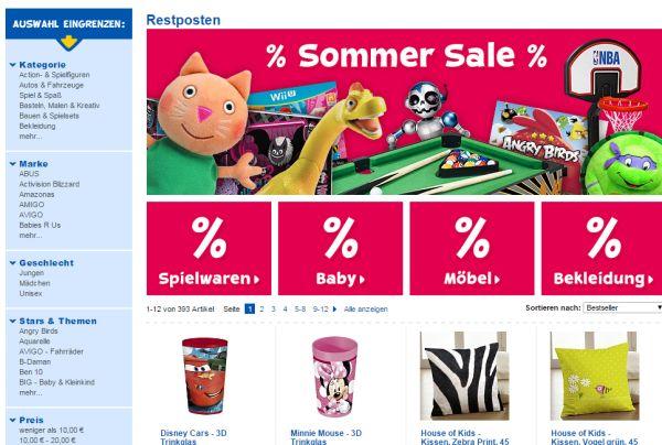ToysRUs Bis Zu 70 Prozent Rabatt Auf Restposten