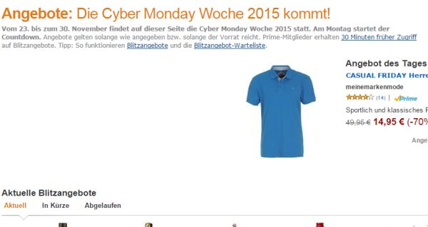 amazon cyber monday week 2015