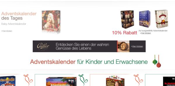 amazon exklusive adventskalender erwachsene kinder