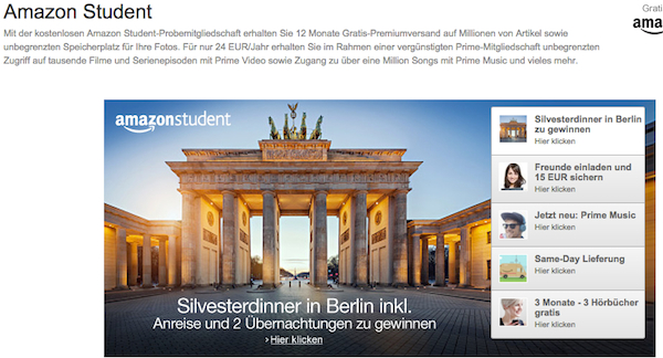 amazon student 15 euro amazon gutschein