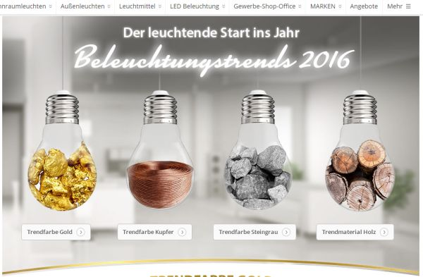 lampenwelt highlights januar 2016
