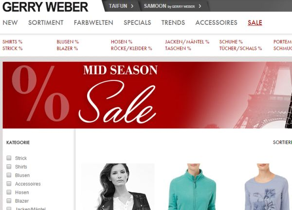 gerry weber sale