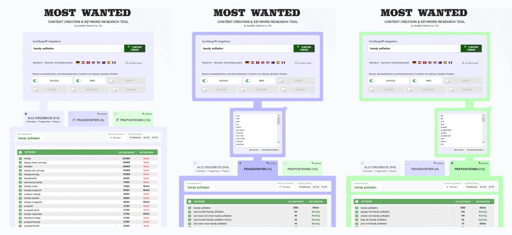 MOST WANTED SEO KEYWORD TOOL