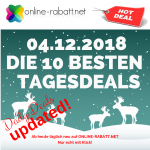 Top Ten Tagesdeals am 04.12.2018