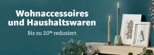 20% Amazon de Home Deal Woche Küche, Haushalt Wohnen