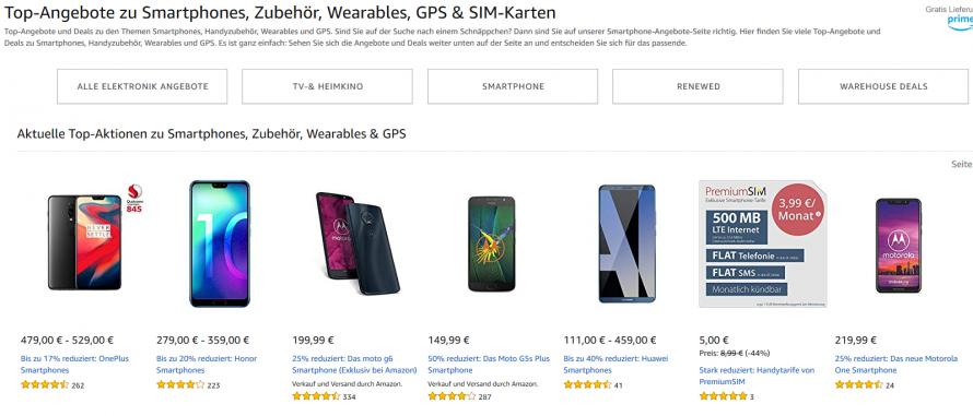 Amazon Smartphone-Deals