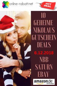 10 geheime Nikolaus Gutschein Deals
